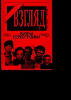 Вячеслав Аничкин: «ВЗГЛЯД» - БИТЛЫ ПЕРЕСТРОЙКИ. ОНИ ИГРАЛИ НА КРЕМЛЁВСКИХ НЕРВАХ